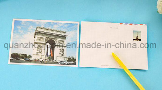 Custom Hot Sale Paper Tourist Attraction Picture Postcard