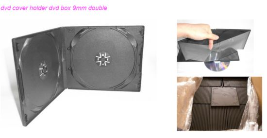 PP Case PP Box PP Cover 10mm Short Double Black Square pictures & photos
