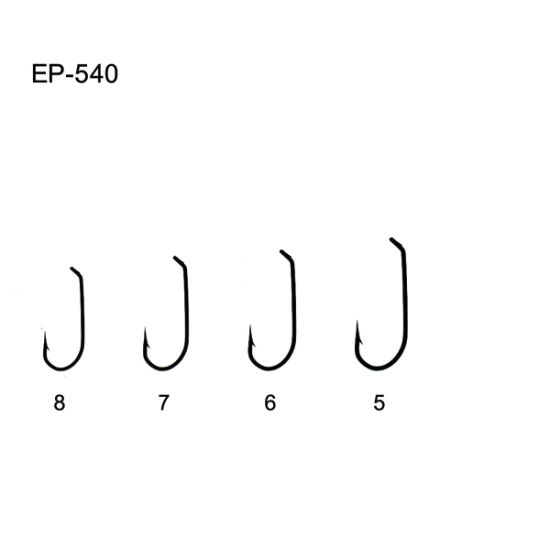 China Ep-540 Variety Nymph Saltwater Fishing Tackle Fly Hooks