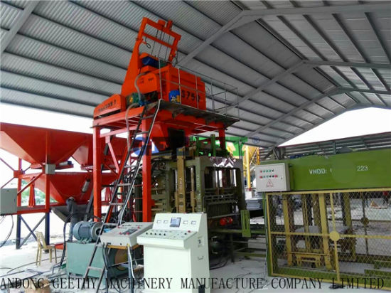 Qt10-15 Fully Automatic Concrete Block Making Machine pictures & photos