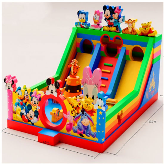 Cartoon Theme Inflatable Outdoor Amusement Park pictures & photos