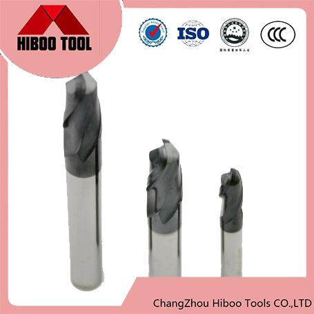 High Quality HRC 55 Degree Carbide End Mill Twist Drill Ball Nose