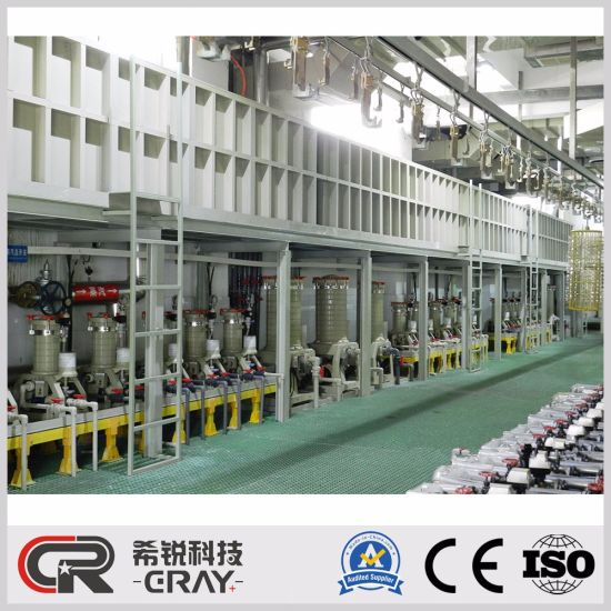 China Good Price Electroplating Equipment for Silver Plating