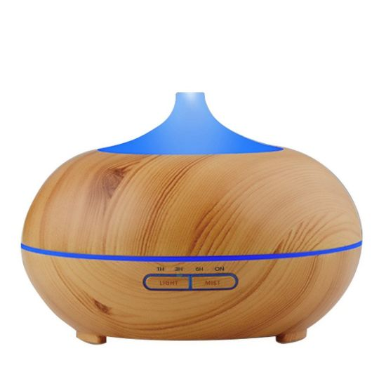 300ml Fake Wood Aromatherapy Fragrance Ultrasonic Essential Oil Humidifier Aroma Diffuser pictures & photos