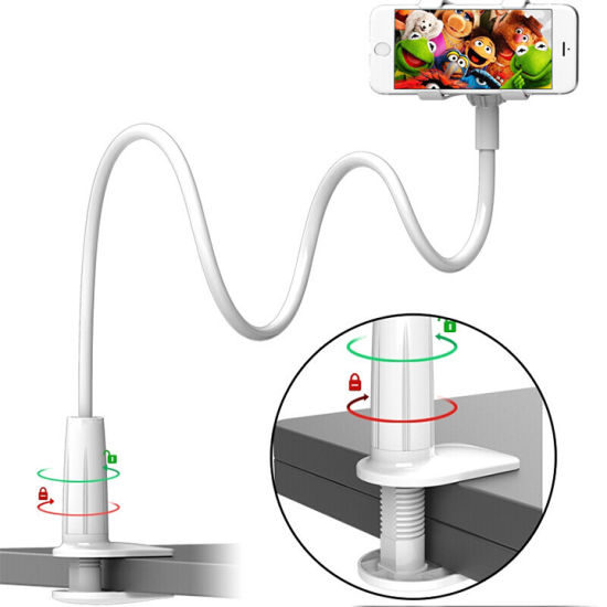 Universal Flexible Phone Stand Lazy Bracket Mount Gooseneck Cell Phone Holder