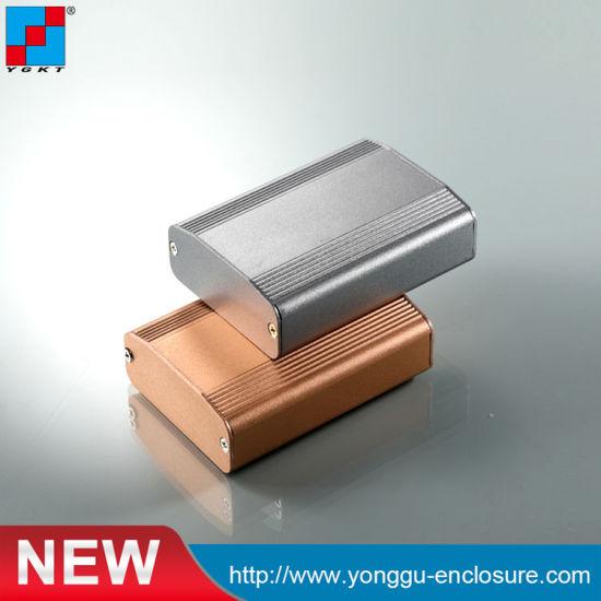 Custom Tube Extrusion Aluminum Project PCB Box Case Electrical Enclosure