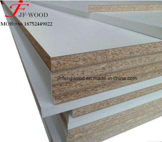 ISO9001: 2008 E2/E1 Furniture Grade 1220*2440 Poplar Core Light Colour Melamine MDF /Particle Board /Chipboard