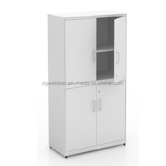 Knock Down Storage Steel Swing Door Cabinet for Office Furniture