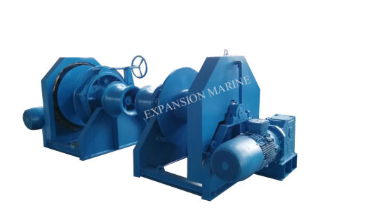 China 10ton Slow Speed Electric Winch with Hydraulic Brake