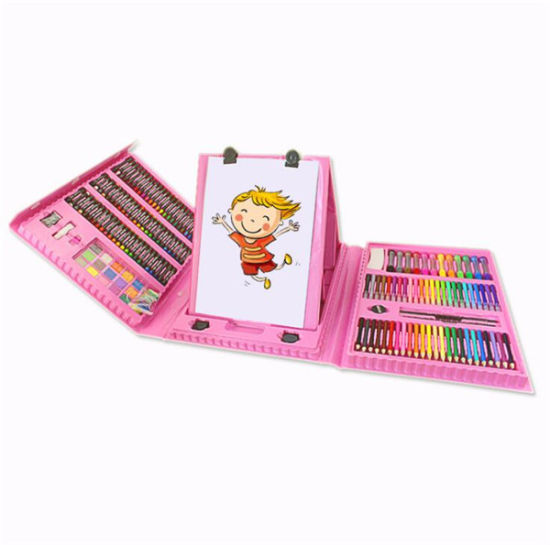 New Design OEM Children Art Case with Easel pictures & photos