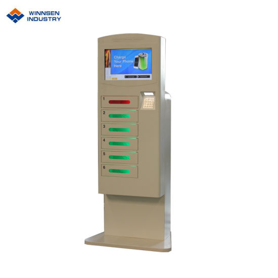 Mobile Phone Charging Station/Mobile Phone Charging Vending Machine pictures & photos