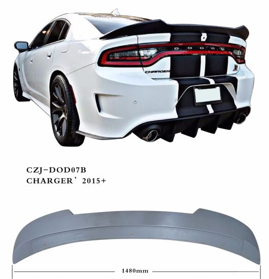 Czj for Dodge Charger 2015+ Car Rear ABS Spoiler