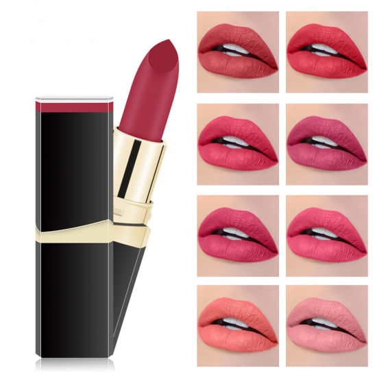 Hot Selling Factory Price 42 Colors Beauty Matte Lipsticks Cosmetics