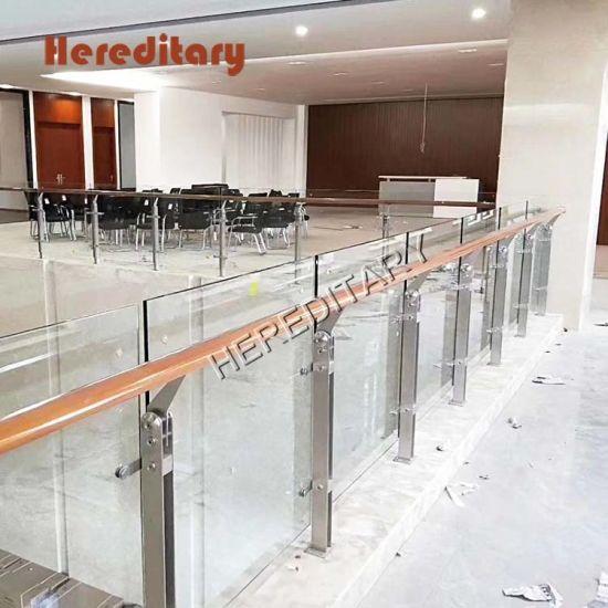 Q-Railing Stainless Steel Handrail Wall Flange Grade 304//316 Wall Rail Balustr
