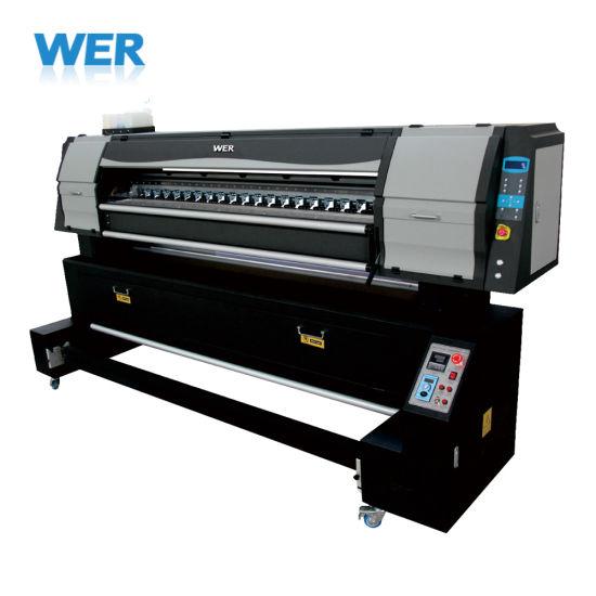 1.8m Direct Textile Sublimation Printer Wer-E1802t