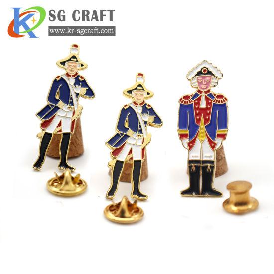 Wholesale Custom Metal Badge! Factory Price No MOQ! Hard Enamel Attractive Design Metal Pin Badge