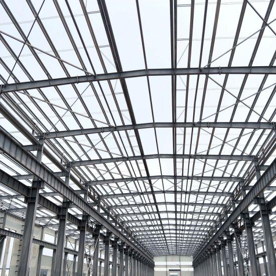 Modern Modular Prefabricated House Building Metal Portal Construction Prefab Warehouse Structural Light Frame Steel Structure