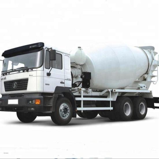 Super-Above China 6cbm Concrete Mixer Mixing Truck with Concrete Boom Pump