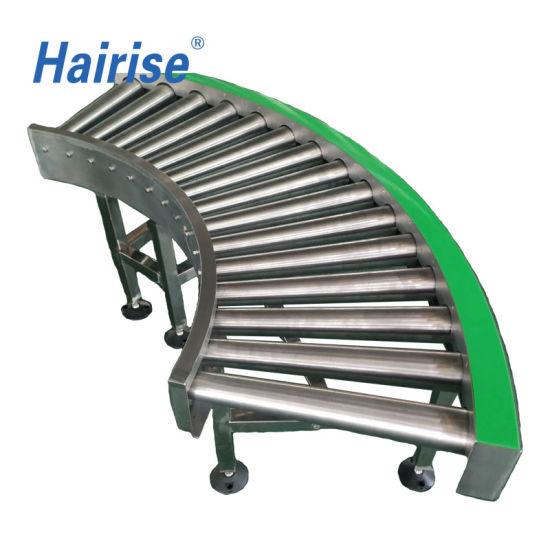 Hairise Stainless Steel 304 Automated Wheel Roller Conveyor