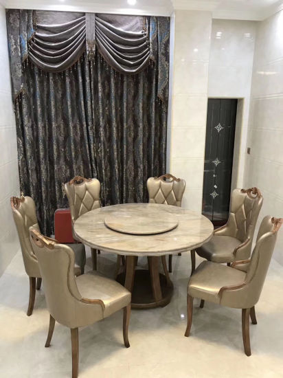 China Classic Antique Luxury Dining, 8 Seater Round Table