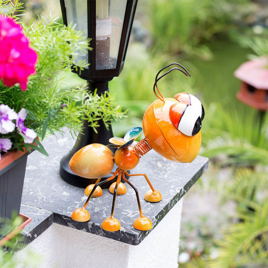 Metal Yellow Bee Garden Home Ornament China Manufacturer Sino Glory pictures & photos