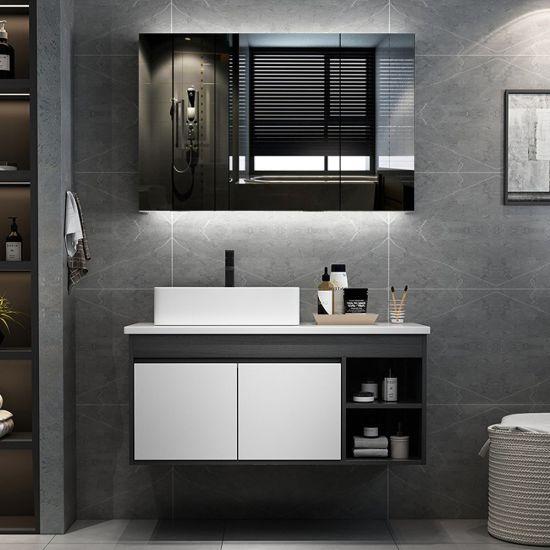 European Wall Hanging Vanity Bathroom, Hanging Bathroom Cabinets