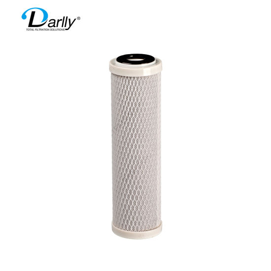 10'' Darlly Manufacturer Quality Coconut Carbon Powder Carbon Block Bottle Filter for Drinking Water