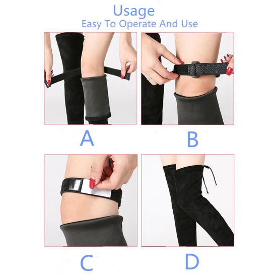 RoHS Approved Non Slip Invisible Boots Strap Anti Dropping Blet