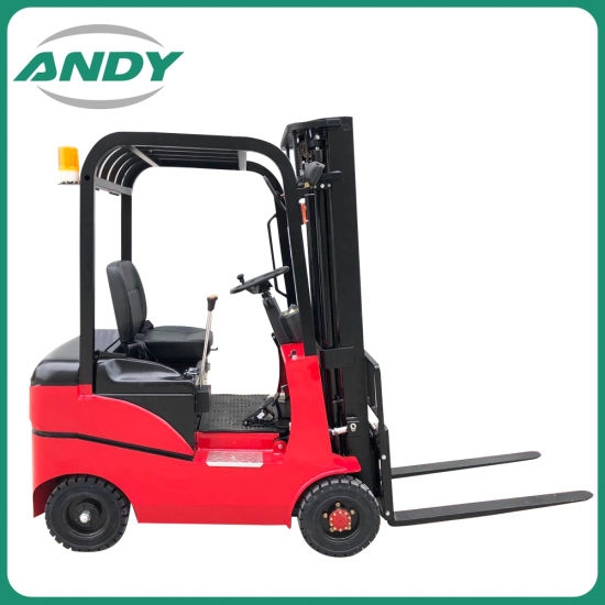 2ton 3 Ton Balance Weight Forklift Four Wheels Battery Electric Forklift Truck Lifting 3000mm
