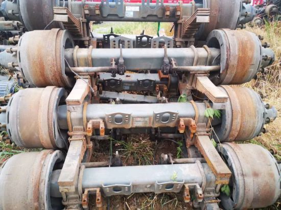 Low Price Fuwa and BPW Second Hand Old Used Truck and Trailer Axle