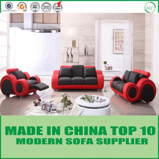Dubai Circular Modern Sectional Recliner Leather Sofa Chair