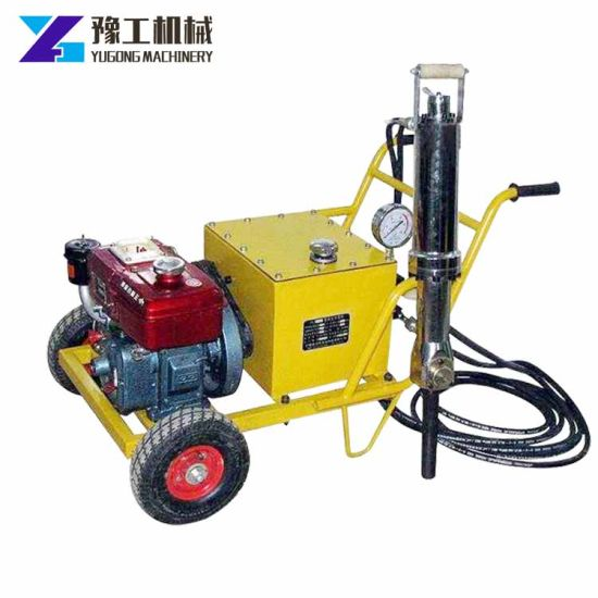 China Hight Performance Hydraulic Fracturing Machines Rock