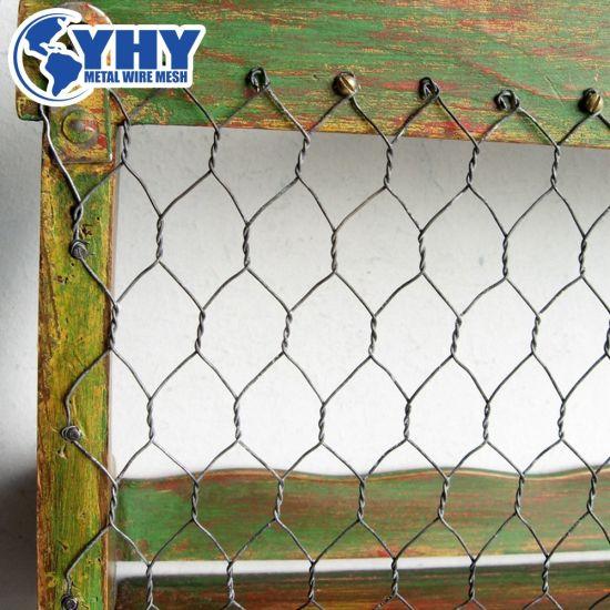 China 0.8mm Wire 25mm Mesh PVC Coated Hexagonal Wire Mesh - China ...