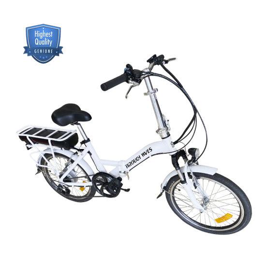China Cheap Adult 36V 20inch Aluminum Alloy Frame Hidden Battery Foldable Ebike Folding Electric Bike
