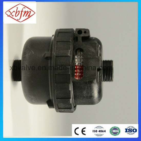Rotary Piston Water Meter with Plastic Body (LXH-20) pictures & photos