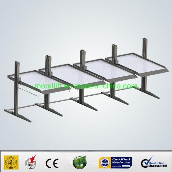 Smart Parkign Solution 2 Level 2 Post Parking Lift