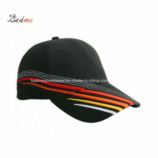 616d061ea11 Wholesale Brushed Cotton Twill Baseball Cap Golf Cap Racing Sports Cap