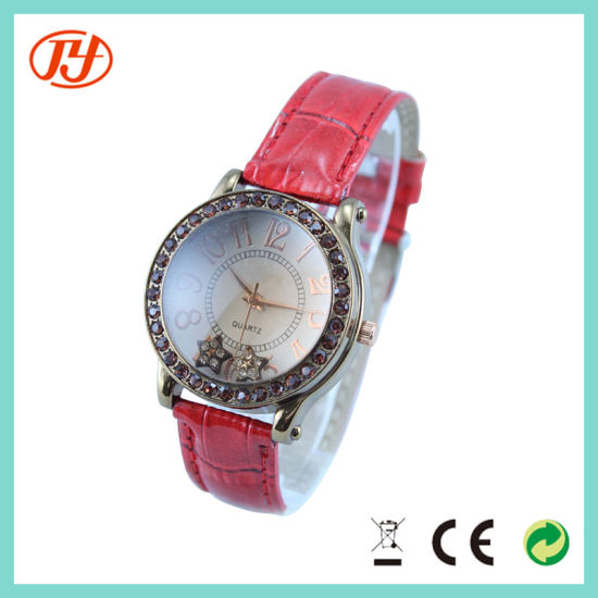 Fashion New 2018 Styles Woman Stainless Steel Brand Wrist Watch pictures & photos