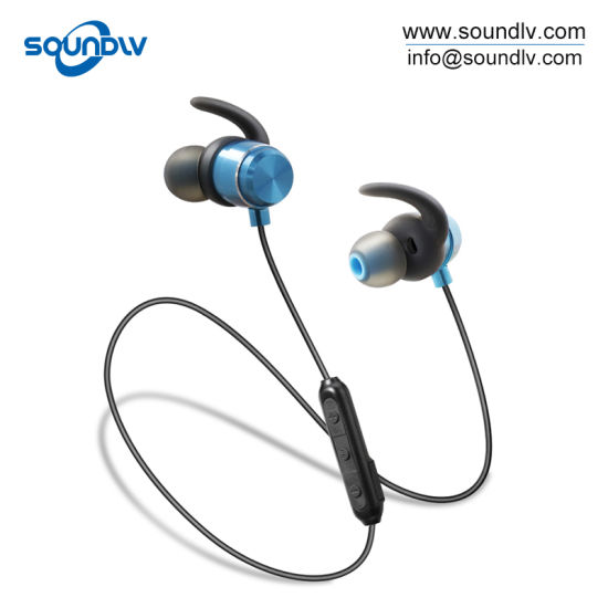 546cbe6ab61 Portable Best Running Handsfree Magnetic Wireless Bluetooth Sport Stereo  Earbuds