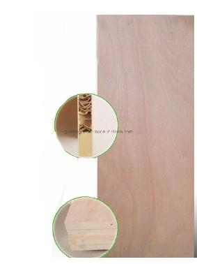 2.7mm Okoume Wood Veneer Door Skin Plywood for Interior Flush Door Leaf