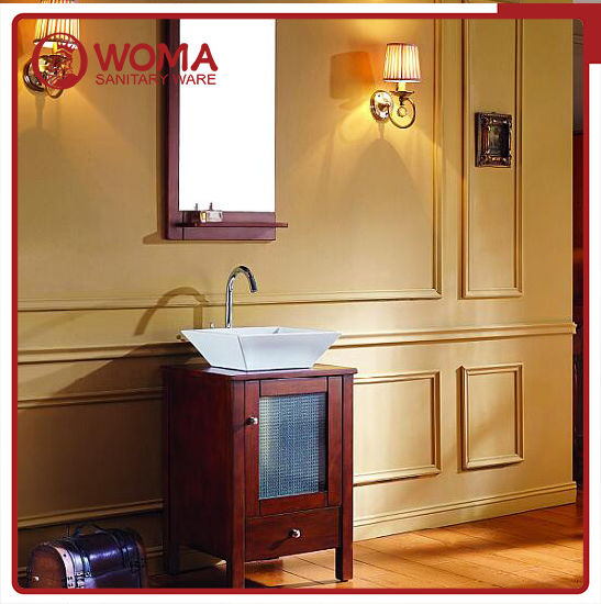 Woma Oak Wood 600mm Size Bathroom Vanity (1003B) pictures & photos