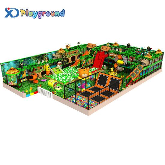 Attractive Commercial Amusment Park Indoor Playground for Children