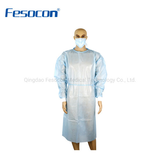 High Quality Hospital Medical Safety Protective Disposible Isolation Gowns
