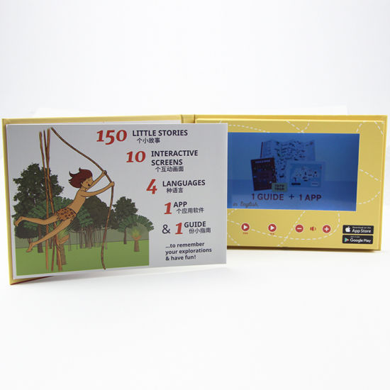 China Digital Promotional Video Brochure 2 4 Inch Card for PC