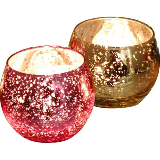 Decorative Glass Candle Holders.Romantic Round Glass Jar Glass Candle Holders For Wedding