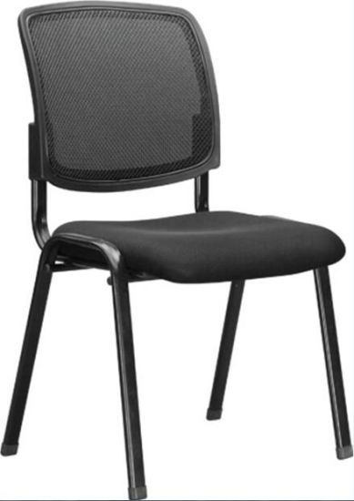 Mesh Office Study Antique Conference Room Chairs Without Wheels