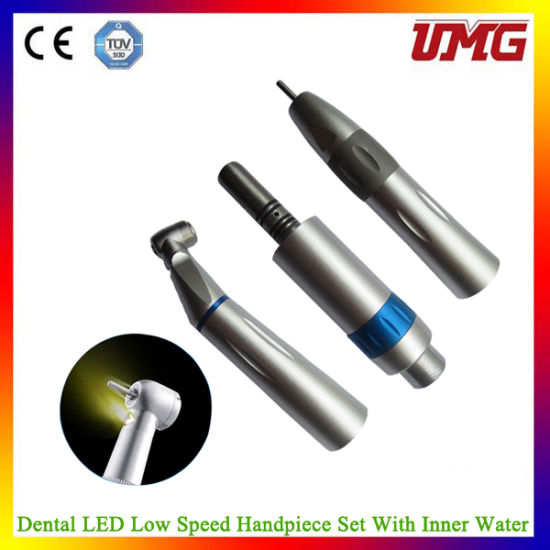 E-Generator (LED) Dental Handpiece Low Speed Handpiece pictures & photos