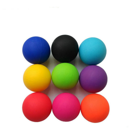 Home Gym Equipment Silicone Fascia Yoga Massage Muscle Relaxing Ball