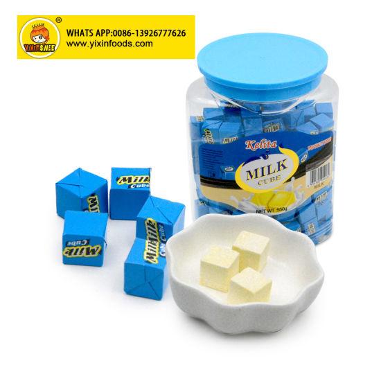 Halal Hard Candy Milk Cube