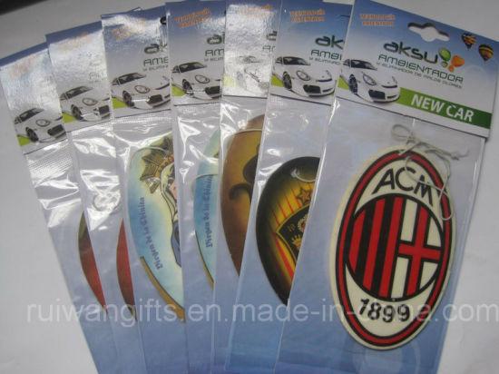 Paper Car Air Fresheners for Football Club (AF009-1)
